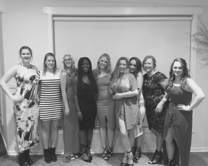 2016 Presentation Night Women's Squad